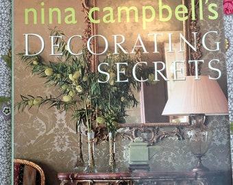 nina campbell's Decorating Secrets Hardback Book