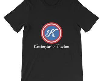 Captain Kindergarten Teacher Short-Sleeve Unisex T-Shirt