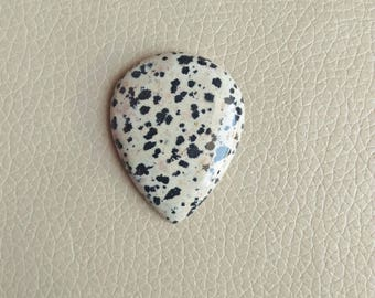 Beautiful Dalmatian Jasper Gemstone, Jewellery Pendant Dalmatian Jasper Stone, Dalmatian Jasper Weight 81 Carat and Size 45x35x8 MM Approx.