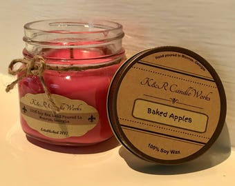 Baked Apples Candle