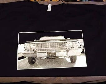 1963 Chevrolet Impala Front Grill Silk Screen
