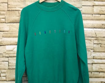United Colour Of Benetton Italian Fashion Brand Sweatshirt