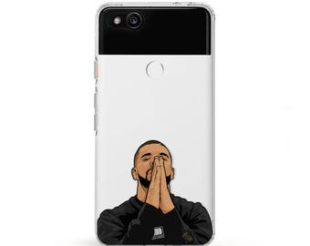 Drake praying hands Drake case Samsung 7 phone case Drake pray hands google pixel 2 case clear pixel 1 case Silicone phone case Galaxy note