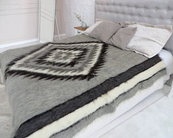 wool blanket queen size bed cover gray wool blanket fleece blanket wool blanket king woven