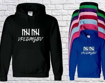 unisex kids team 10 initials  hoody, jake logan paul INSPIRED , youtube hoodie