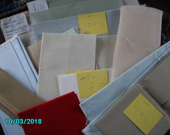 12+ Blank Cross Stitch and Needlework Canvases