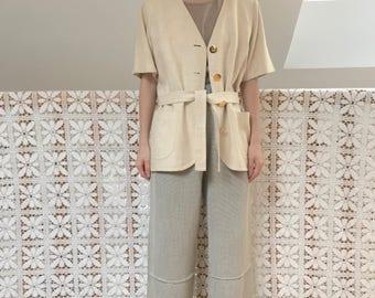 jacket Yves Saint Laurent silk effect relief