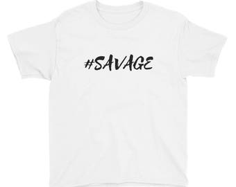 SAVAGE Youth Short Sleeve T-Shirt