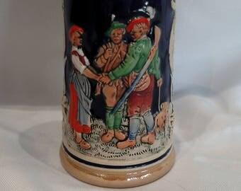 Vintage mini beer Stein