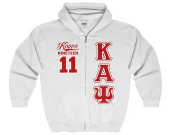 Kappa Alpha Psi Hoodie // Kappa Alpha Psi // Kappa Alpha Psi Clothing // Kappa Alpha Psi Gift // 1911 // Nupe // Kappa //  Edition 3