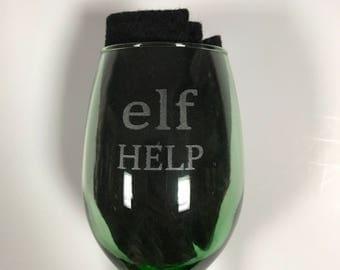 Christmas Glasses/ Elf Help/ Reindeer Fuel/