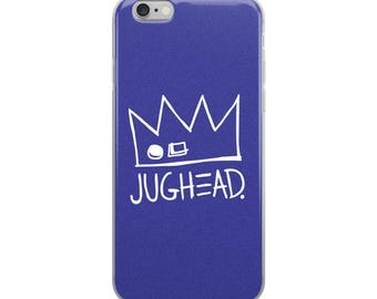 NEW! Ships VERY fast! Jughead Jones iPhone Case, Cute, Blue, iPhone 6-X, Riverdale, Archie Comics, Archie Andrews, Betty Cooper, Veronica