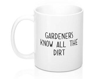 Gardener gift, Gift for gardener, Gardener Mug, Gardening Mug, Gardeners Mug, Florist mug, Gift for gardeners, Plant Lady Mug, Ceramic