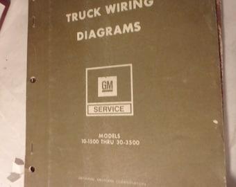 1977 general motors truck wiring diagrams models 10-1500 thru 30-3500