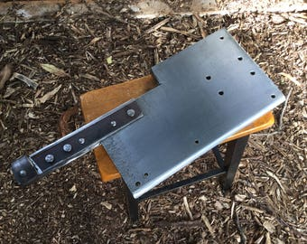 Oversized meat cleaver