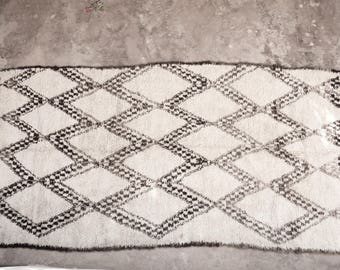 exceptional vintage Beniouarain rug  from the 60's
