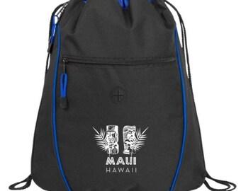 Maui Hawaii Drawstring Backpack