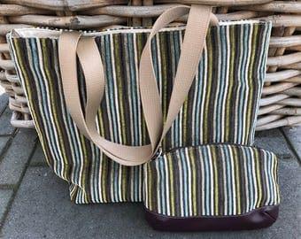 Handmade bag/Shopper with bag