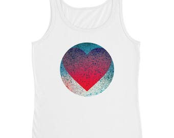 "YouJustKnow Ladies' Tank ""Heart"""