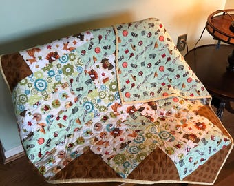 Ribbon Cuddles Quilt