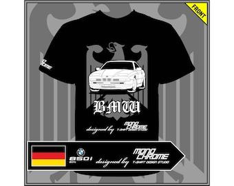T-shirt BMW 850i (E31)