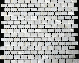 natural sea shell mosaic mop004 mother of pearl tile kitchen backsplash subway pearl shell tiles mother