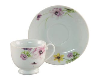 Victorian style teacup