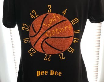 Basketball championship support tshirt