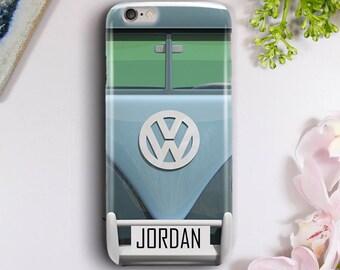 Volkswagen Bus Case for iPhone 5S, iPhone 6/6S, iPhone 7, iPhone 7 Plus, iPhone 8, Samsung Galaxy S6, Galaxy S7, Galaxy S8