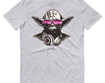 DJ Yoda Star Wars Mens T-Shirt