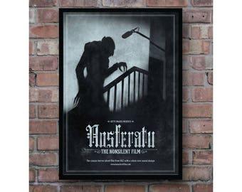 Nosferatu the symphony of horror classic movie cover home decoration poster