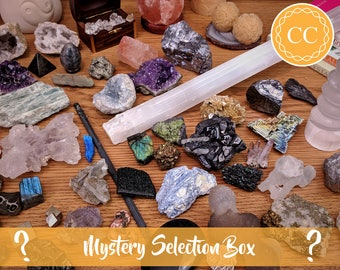 Mystery Crystal Box | Surprise Crystal Box | Collectors Box