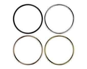 "Ring ""09"" 18 k gold (yellow white red or black) 18 k gold ring"