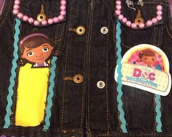 Doc McStuffins Custom Vest
