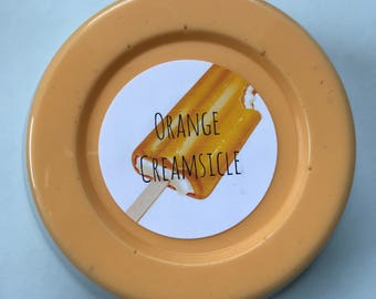 Orange Creamsicle Slime *scented* Cloud Slime