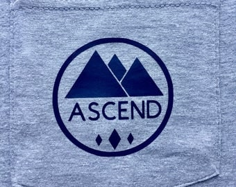 Ascend Logo Mountain Shirt