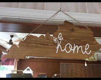 Kentucky Home Sign