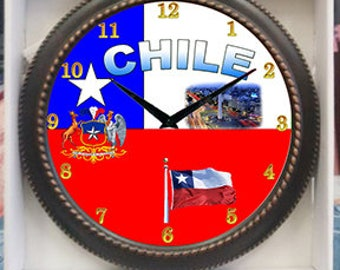 Chile Clock Decor wall Clock