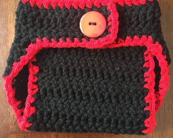 Custom Crochet Diaper Cover