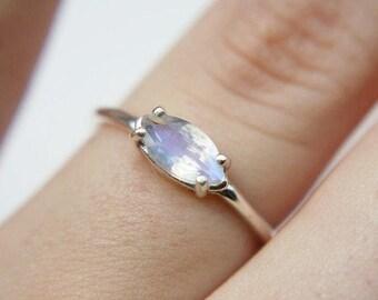 rainbow ring or earring set