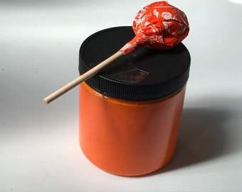 Orange creamsikile slime (sented orange creamsikile)