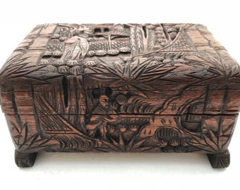 Carved Keepsake Box