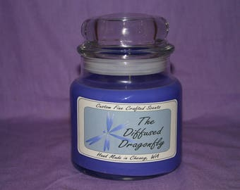 8oz Dome Lid Candle