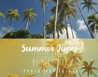 Summer Times – Photoshop Action