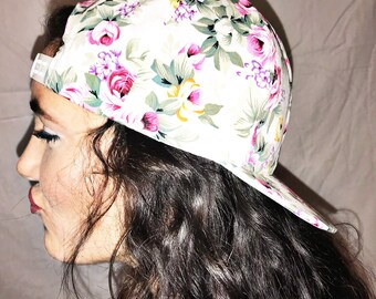 Funky Floral Cap