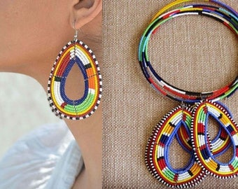 Chozi Earring and Necklace Set