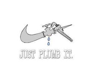 Just plumb it