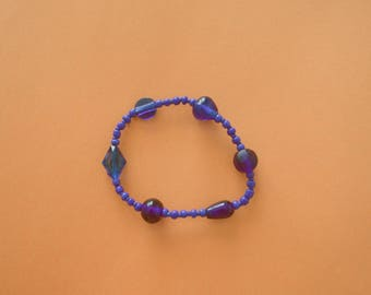 Seed Bead Series 2.0 - Blue Bracelet