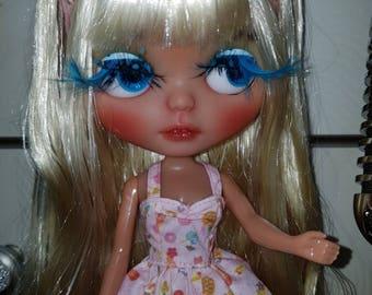Blythe Custom - Pineapple Princess