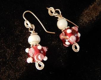 Handcrafted Artisan Dangle Earrings